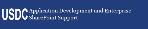 Application Development and Enterprise SharePoint Support