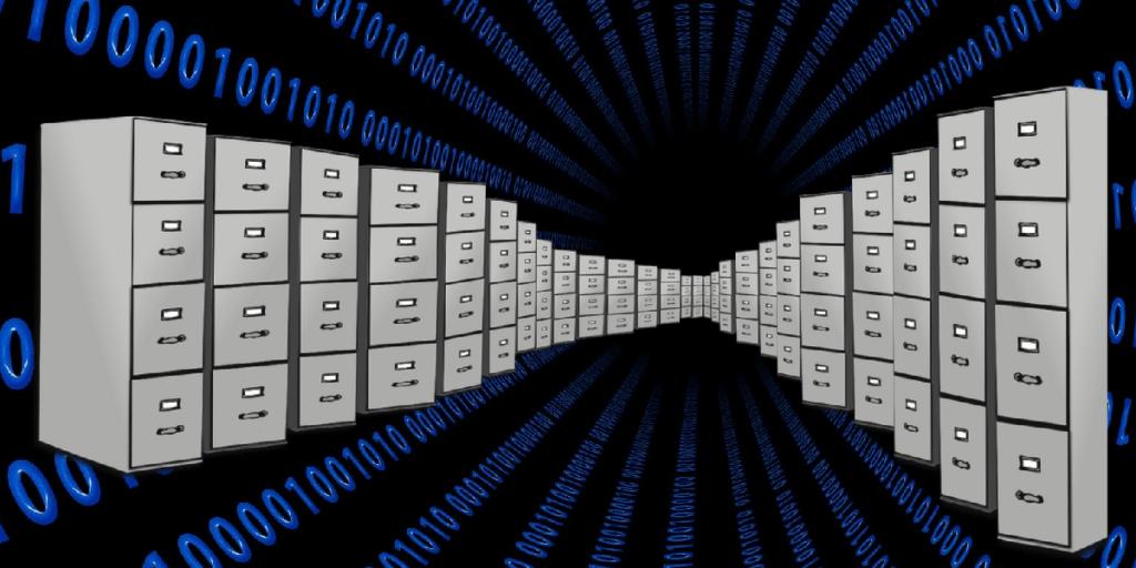 Illustration of Data Storage