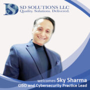 Cybersecurity Leader Joins SD Solutions