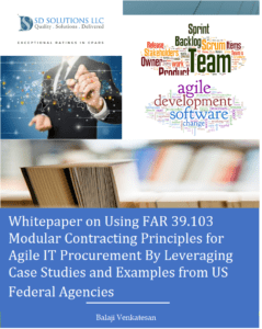 Federal Agile IT Procurement Using FAR 39.103 Modular Contracting Principles: