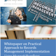 SD Solutions whitepaper for records management