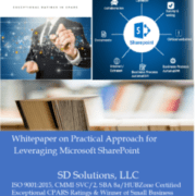 SD Solutions whitepaper for SharePoint
