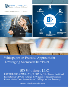 Leveraging Microsoft SharePoint for Enterprise Search, Productivity, Collaboration, and Intranet: